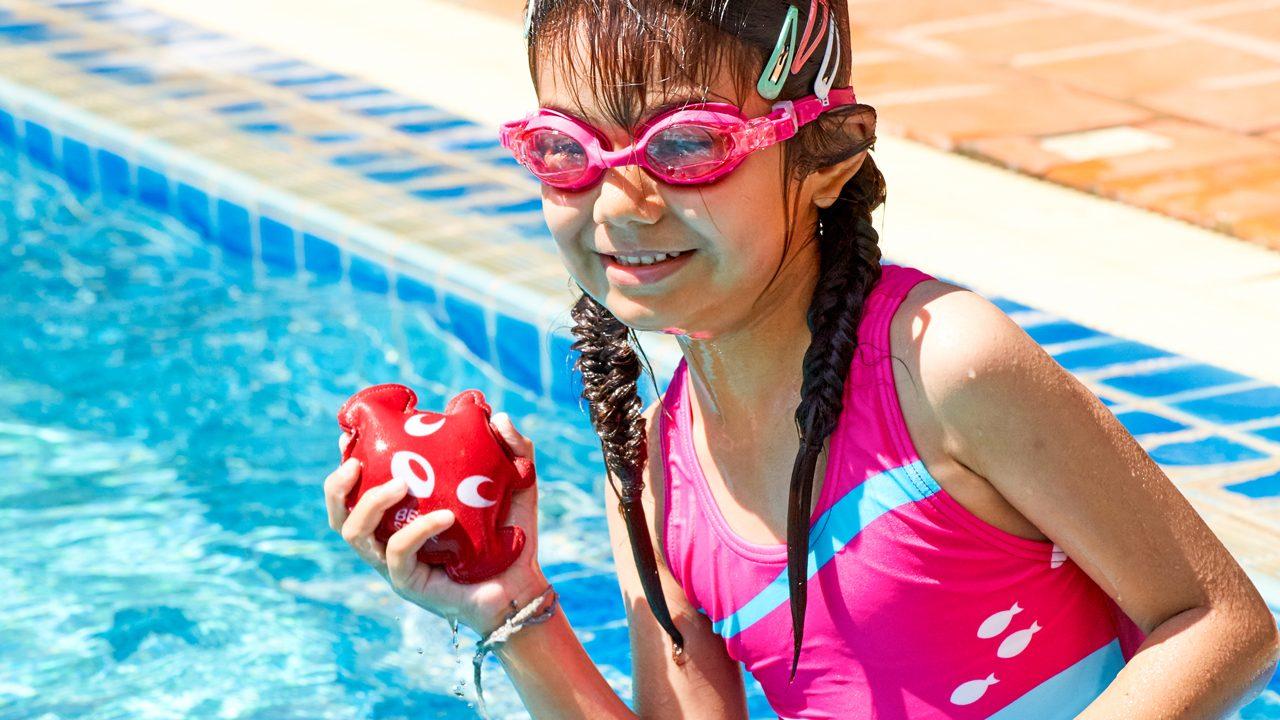 Spielen im Wasser