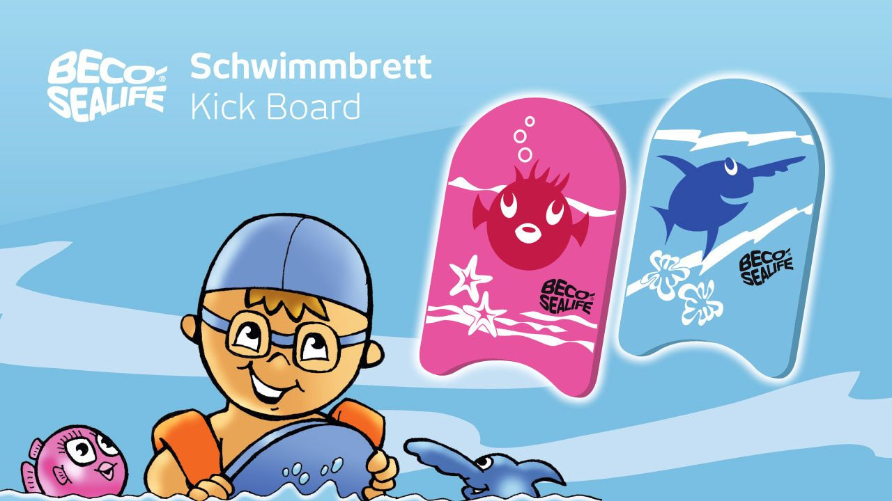 Swimming boards in child size