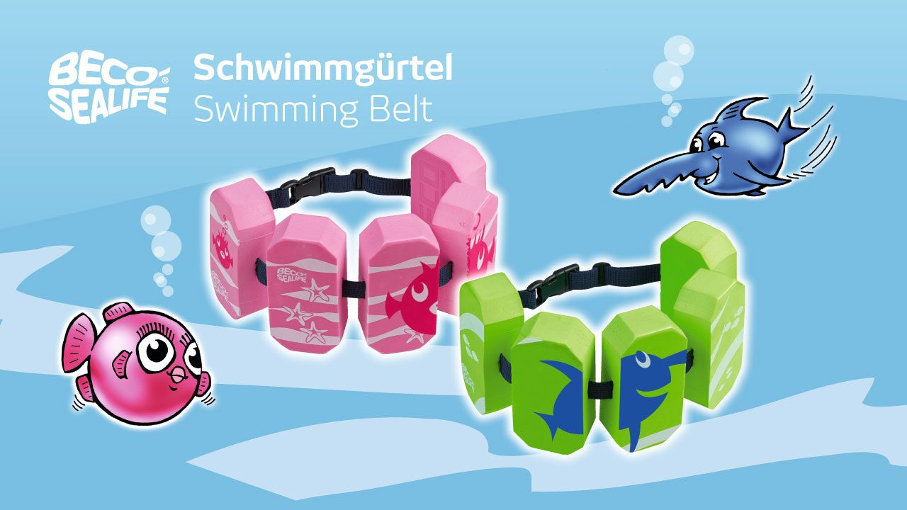 Swimming belts for children