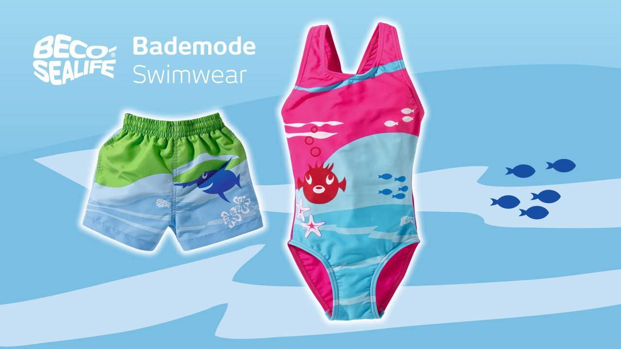 Sporty swimwear for the youngest kids