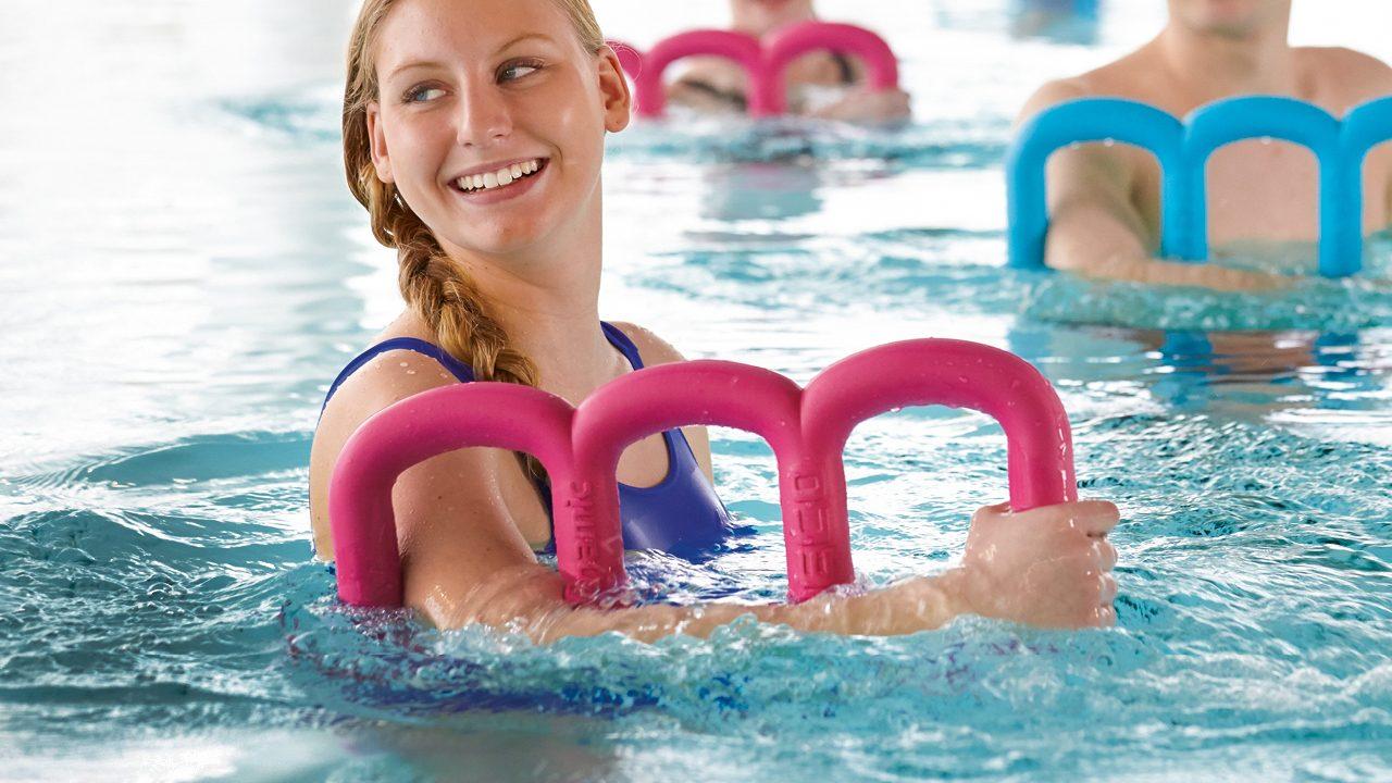 Das ultimative Aquafitness-Gerät für den Oberkörper