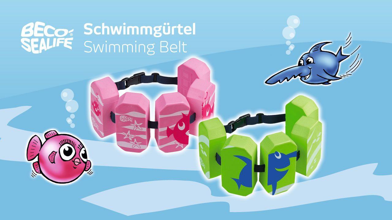 Vorteile der BECO-SEALIFE®-Schwimmgürtel