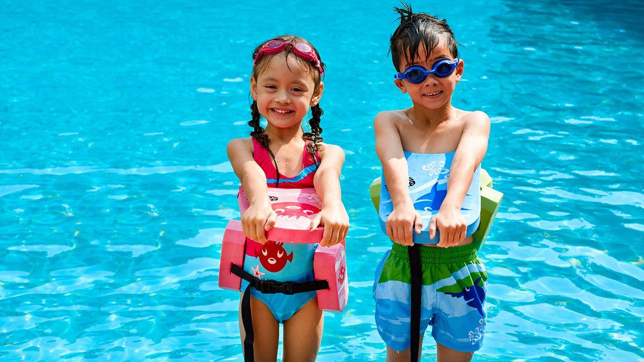 Schwimmbretter in Kindergröße