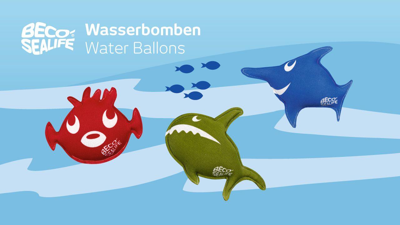 BECO-SEALIFE®-Wasserbomben
