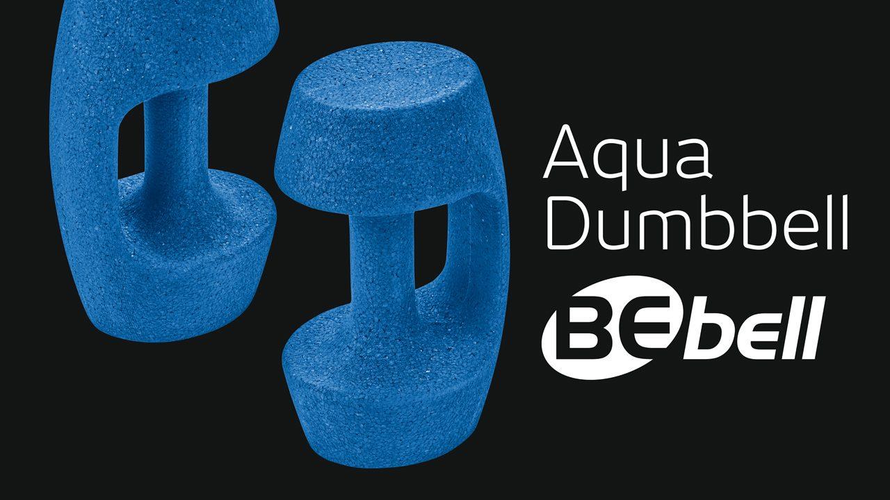 Hochwertige Aqua-Hantel