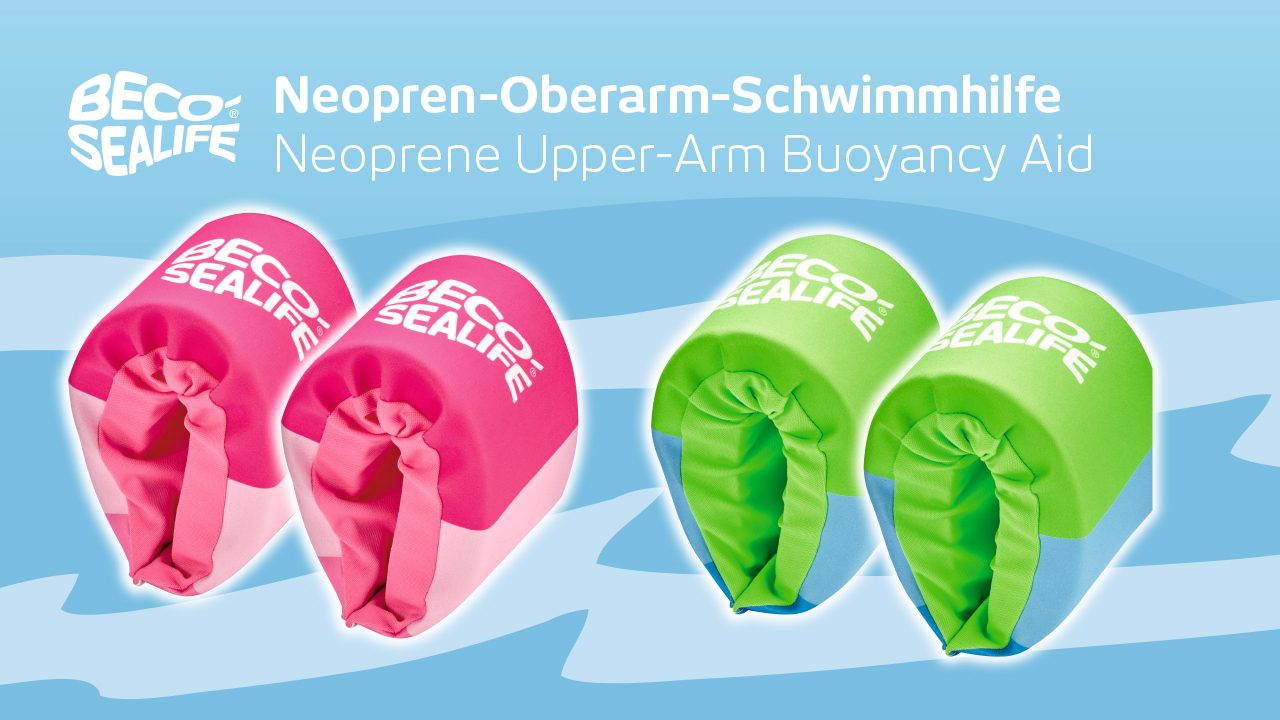 BECO-SEALIFE® Neopren-Oberarm-Schwimmhilfe