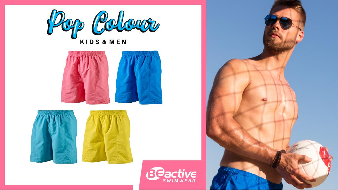 Pop Colour // Swimwear Kids & Men