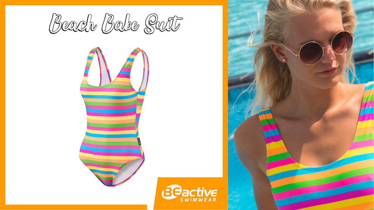 Pop Colour // Beach Babe Suit